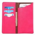 Solidi rožinė odinė universali įmautė - piniginė (L dydis)