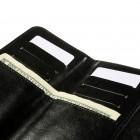 """Crazy Horse"" universali solidi juoda odinė įmautė (L+ dydis)"
