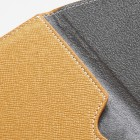 Universali geltona odinė kompiuterinės planšetės įmautė, vokas, 7 colių planšetėms