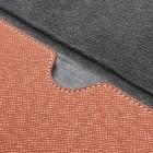 Universali oranžinė odinė kompiuterinės planšetės įmautė, vokas, 7 colių planšetėms