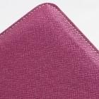 Universali violetinė odinė kompiuterinės planšetės įmautė, vo6ėms