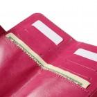 """Crazy Horse"" universali solidi rožinė odinė įmautė (L+ dydis)"