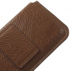 Universali ruda odinė įmautė (L dydis)
