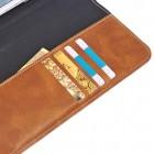 Universali šviesiai ruda odinė kompiuterinės planšetės įmautė, vokas, 9.7 colių planšetėms