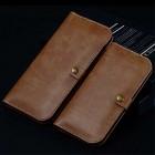 """Solidi """"JLW"""" šviesiai ruda odinė universali įmautė - piniginė (L dydis)"""