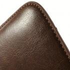 Universali ruda odinė įmautė - dėklas (L+ dydis)