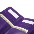 """Crazy Horse"" universali solidi violetinė odinė įmautė (L+ dydis)"
