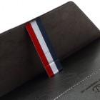 Universali juoda odinė kompiuterinės planšetės įmautė, vokas, 10.1 colių planšetėms