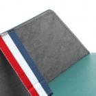 Universali tamsiai žalia odinė kompiuterinės planšetės įmautė, vokas, 10.1 colių planšetėms
