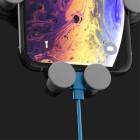 """""""Gravity"""" automobilinis telefono laikiklis (į groteles) - juodas"""