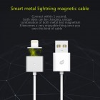 """""""Wsken"""" X-Cable Metal magnetinis Lightning USB baltas laidas 1 metras"""