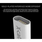 """""""Wsken"""" X-Cable Mini magnetinis Lightning USB baltas laidas 1 metro"""