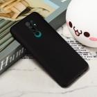 Xiaomi Redmi 9 Shell kieto silikono TPU juodas dėklas - nugarėlė