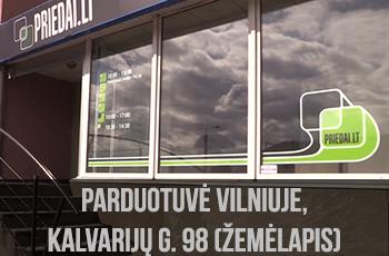 Vilniaus parduotuvės žemėlapis