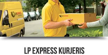 LP Express kurjeris