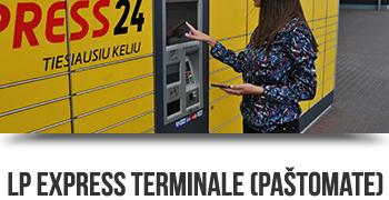 LP Express terminalas (paštomatas)